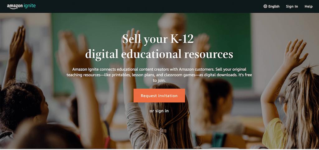 AmazonIgnite-thị-trường-để-giảng-viên-kinh-doanh